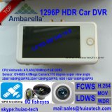 "3.0"" Ambrella A7LA50 Carro de Rastreamento por GPS DVR com Hdr; WDR; Fcws; Ldws; G-Sensor"