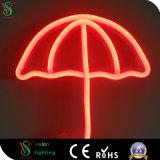 Segno al neon acrilico della flessione del piatto LED per la decorazione