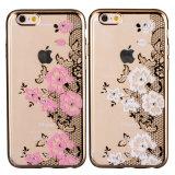 La meilleure qualité et le meilleur prix 2016 du cas du téléphone portable TPU de mode pour l'iPhone et le Samsung