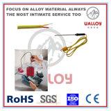 Digitare la fibra di ceramica di T isolata/avuto intrecciato il cavo della compensazione della termocoppia