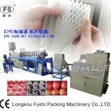 Plastikfrucht-Netzherstellung-Maschine PET Schaumgummi-Netz-Strangpresßling-Maschine