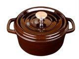 Cookware caldo del POT di stufato della casseruola dello smalto del ghisa di induzione di vendita