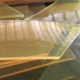 Лист полиуретана, лист PU, листы полиуретана, листы PU с светом - желтым цветом
