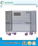 1000*800*840 Compartimento de Armazenamento de metal de laminagem de armazém com Rodas