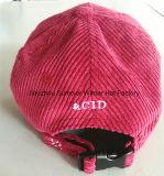Kundenspezifische Freizeit-Baumwollhysteresen-Schutzkappe der Stickerei-3D