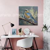 Aves hechas a mano pinturas al óleo para la decoración del hogar