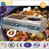 Microordenador de mesa de acero inoxidable cocina de inducción