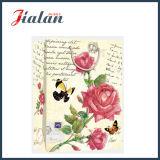 Цветы в стиле ретро дизайном 4c напечатано магазинов подарков водила бумажные мешки