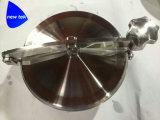De sanitaire Dekking van het Mangat van de Tank van de niet-Druk Elliptische met Silicone