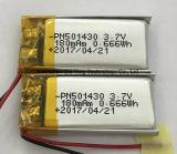 La Chine a fait pile au lithium polymère 3,7 V pour casque Bluetooth Enregistreur vocal numérique