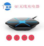 Q5 Wireless Charging PAD Qi Wireless Charger met USB Haven & USB Cable +Wireless Receiver voor voor Ios en Android