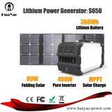 ホームか屋外の軽量のLihtiumの電池の発電機の太陽エネルギーシステム