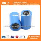 Epoxy de aço revestida Rebar do acoplador em Coupling De 12 - 40 milímetros