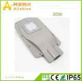 Cuerpo de la lámpara de aluminio de 20W en una sola calle la luz solar jardín