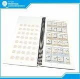 Encadernação em espiral de cor personalizado impressão de livros de bolso