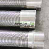 Carbon Steel and Stainless Steel V-Shape Wire Wedge Wire Screen for Toilets Well Treatment Toilets