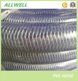 Fibre polyester PVC et le fil du tuyau flexible en acier renforcé