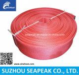 Manichetta antincendio con il rivestimento rosso