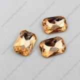 Atacado China Factory K9 Crystal Fancy Octagon Glass Loose Bead Stone