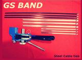 Releasable Roestvrij staal van de vervaardiging 304/316 Banden van de Kabel