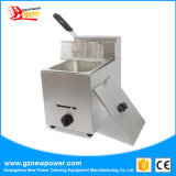 Friggitrice profonda dell'acciaio inossidabile del gas per la strumentazione di approvvigionamento