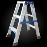 Una escala de paso de progresión plegable de aluminio de la dimensión de una variable