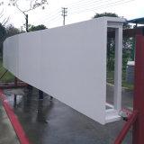 Sistema modular de fachada de alumínio feito de painéis de alumínio decorativos