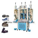 靴の背部部品の形成機械