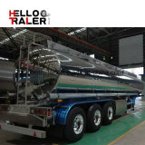 3 de Aanhangwagen van de Tanker van de Brandstof van het Aluminium van assen voor de Lichte Levering van de Diesel