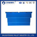 Rectángulo plástico de seda libre del totalizador del envase de almacenaje de la impresión con la tapa