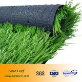 Caldo-Vendita dell'erba artificiale di gioco del calcio, tappeto erboso sintetico di calcio con il filato di Cw-Figura