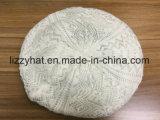 Берет шерстей способа связанный вязанием крючком в шерстях/Acrylic