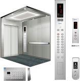 응급 의료 부호 파란 서비스 및 회고 열쇠 스위치를 가진 병원 엘리베이터