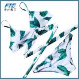 Kundenspezifischer reizvoller Strand-Badebekleidungs-Frauen-Bikini