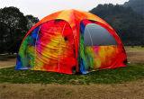 шатер купола печати логоса 5X5m 6X6m Customed раздувной