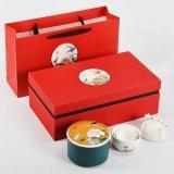 Cajas de té chino de estilo de lujo precio de fábrica Cuadro rojo