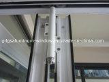 Alluminio che fa scorrere il portello piegante del patio