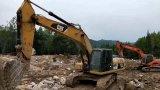 Trattore a cingoli giapponese usato 329d 2011 dell'escavatore per la vendita
