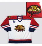 Можно настроить в Монктоне Wildcats Qmjhl мужская женщин Детский хоккей дешевые футболках Nikeid Goalit вырезать пользовательские любое имя любой № белого цвета красный футболках nikeid оптовая торговля