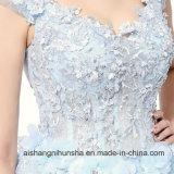 Neues hochwertiges buntes Spitze-Blumen-Hochzeits-Luxuxkleid