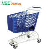180L de plástico supermercado Carrito de compras El carro