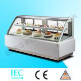 Коммерчески витрина холодильника для торта