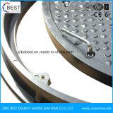 700mm SMC de resina com fechadura da tampa de inspeção