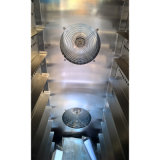 実質の工場からの空気の循環の10皿のガスの対流のパン屋オーブン