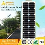 Venta de fábrica de iluminación LED Solar con paneles solares de alta eficiencia de la energía solar Calle luz LED