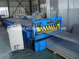 Rolo de aço galvanizado da telhadura que dá forma à máquina