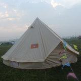かなり防水贅沢な綿のキャンバスのサファリのテントのホテルの鐘テント