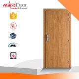 UL твердых дуба Fire номинальной деревянной дверью