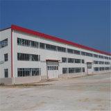 産業構造の安全保管倉庫を組み立てるプレハブの軽量の鋼鉄