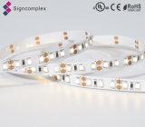 Signcomplex el mejor Epistar rentable 5050/3528 tira de la luz de SMD LED con la UL de RoHS del Ce